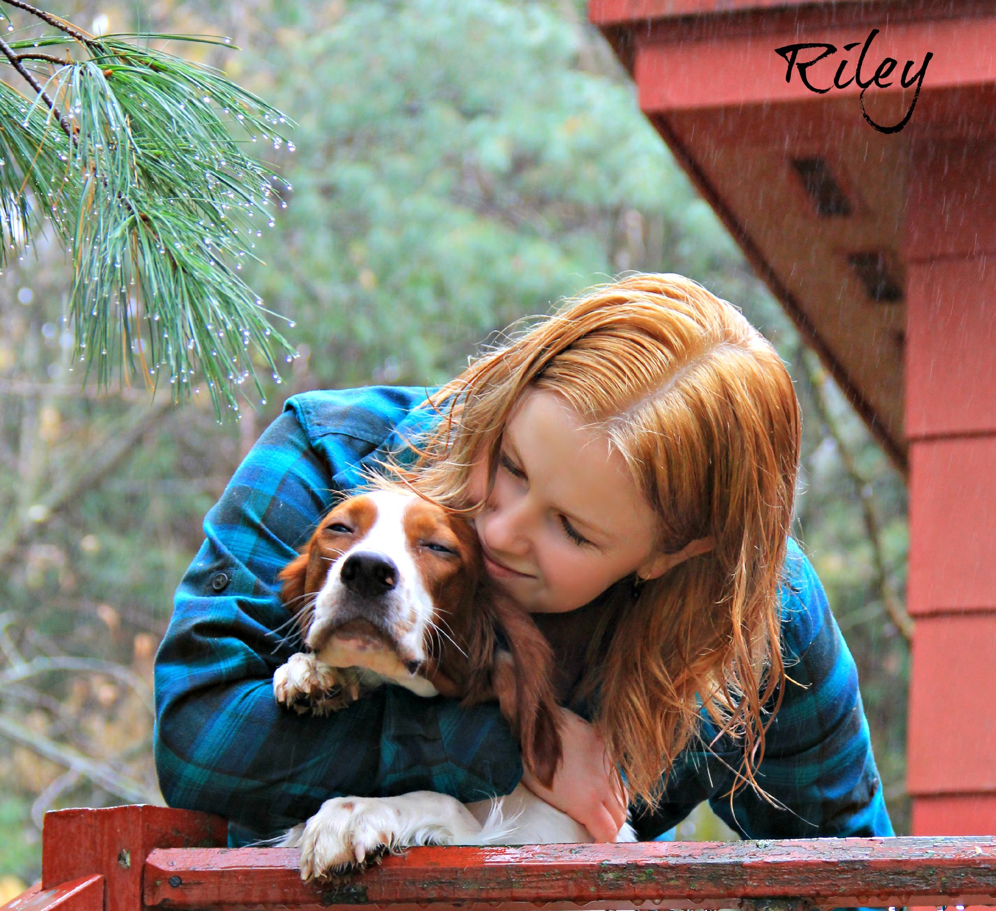 Kellyn Miller and Ella the Clumber Spaniel